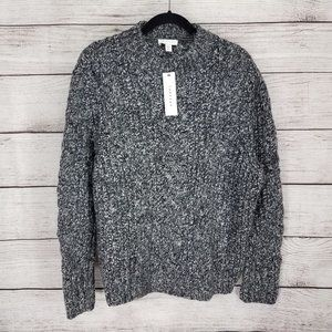 NEW Topshop 4-6 Pullover Sweater Chunky Cable Knit